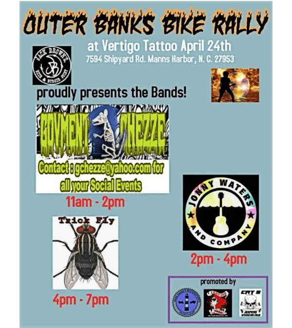 2021 OBX Bike Rally Live Bands